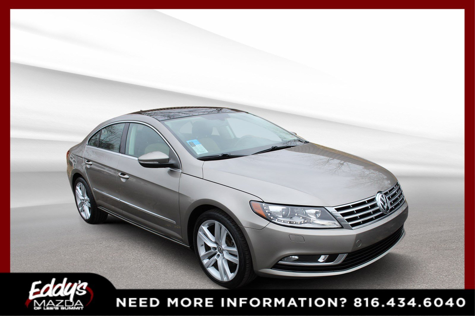 Pre-Owned 2015 Volkswagen CC Executive